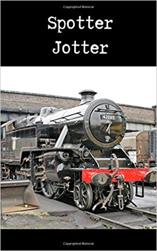 Spotter Jotter: Notebook for recording train numbers and details