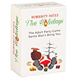 Humanity Hates the Holidays (80 White Cards, 30 Black Cards) - The Adult Card Game For Christmas, Hanukkah, Thanksgiving, Kwanza