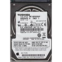 MK1655GSXF, HDD2H75 P TM01 T, Toshiba 160GB SATA 2.5 Hard Drive