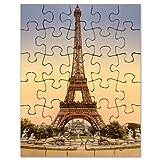 CafePress - Eiffel Tower, Paris France - Jigsaw Puzzle, 30 pcs.