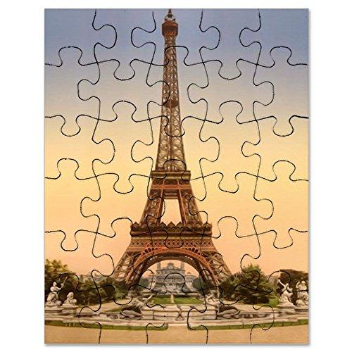 CafePress - Eiffel Tower, Paris France - Jigsaw Puzzle, 30 ()