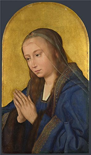 ('Quinten Massys-the Virgin(right Part),probably About 1500-50' Oil Painting, 16x27 Inch / 41x69 Cm ,printed On Perfect Effect Canvas ,this Best Price Art Decorative Canvas Prints Is Perfectly Suitalbe For Laundry Room Artwork And Home Decor And Gifts)