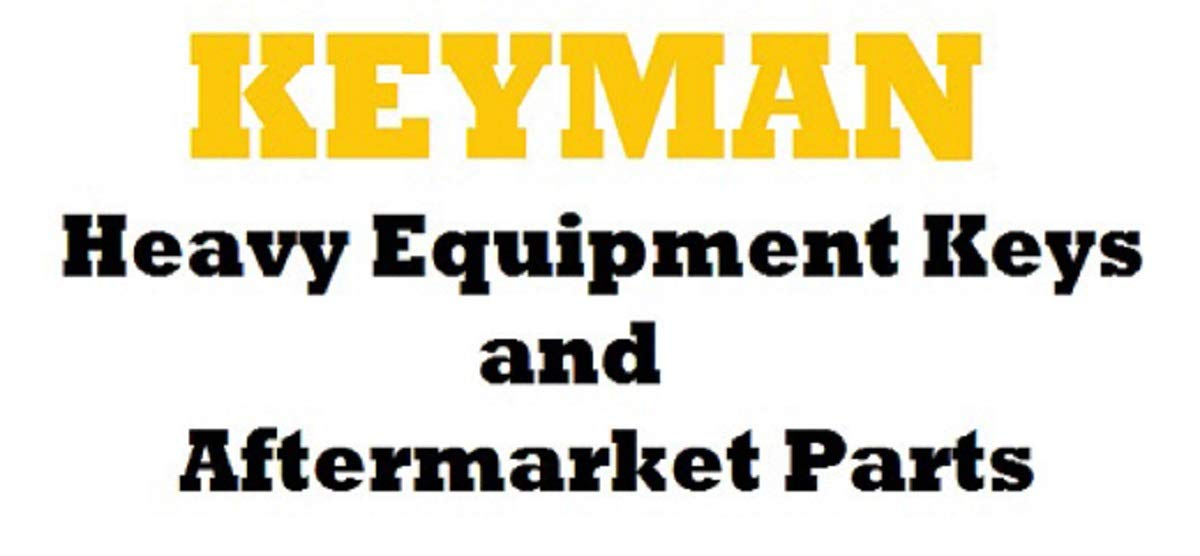 1 Pair Keyman Toyota Forklift Equipment Ignition Keys Newer Style