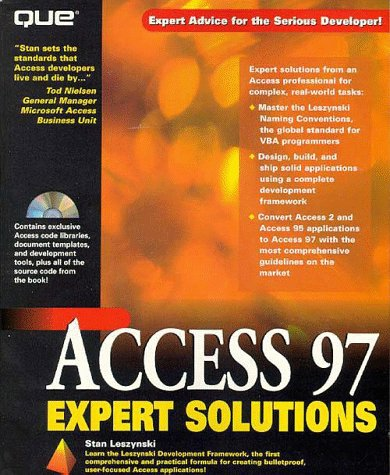 Access 97 Expert Solutions (Access Solutions)