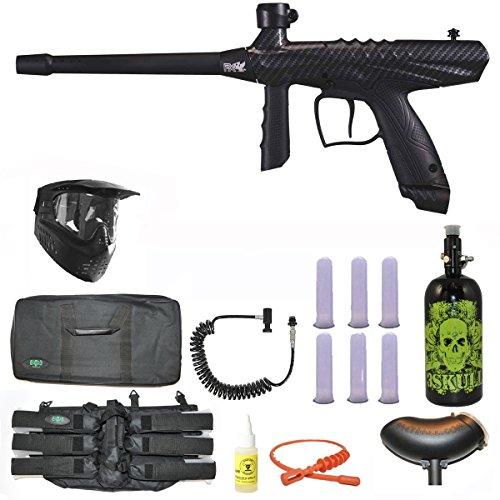 Tippmann Gryphon FX Paintball Marker Gun 3Skull N2 Sniper Set - Carbon Fiber