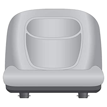 Genuine Stens High Back Seat rpls John Deere AM131531 Part # 420-182
