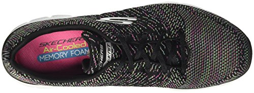 Black para Mujer Appeal Flex Energy Zapatillas 2 High Skechers Negro Multicolour 0 xSvgn0qww