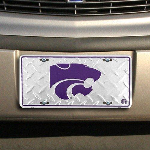 Kansas State Diamond License Plate Tin Sign 6 x 12in