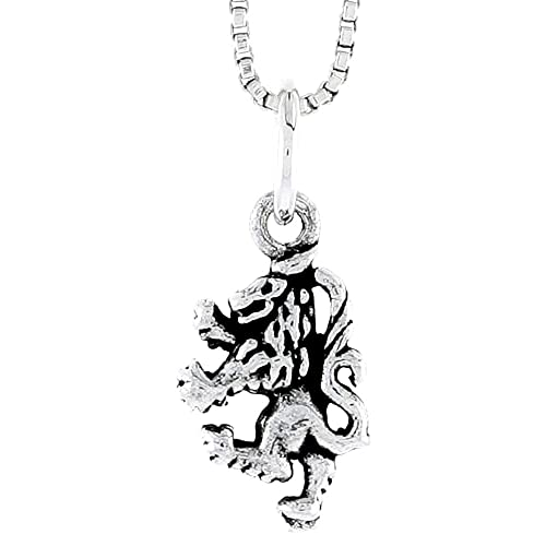 Vintage Ladies Solid Sterling Silver GRIFFIN Charm//Necklace Pendant