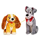 Disney Lady and the Tramp Plush Set - Valentine's Day - Small