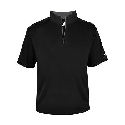 1/4 Zip Pullover Wicking Windbreaker Jacket (All Sports: Baseball, Softball, Tennis, Golf, Track, etc) Youth, Ladies & Adult Sizes