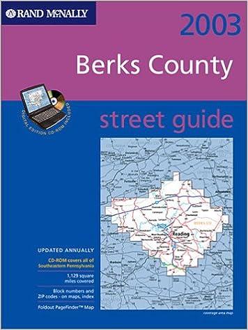 Descargas de libros electrónicos Rand McNally 2003 Berks County Street Guide 0528996827 PDB
