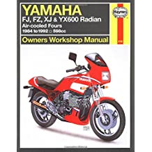 Yamaha FJ, FZ, XJ, & YX600 Radian Owners Workshop Manual: Air-cooled Fours 1984-1995 598cc