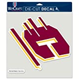 WinCraft NCAA Central Michigan University Perfect Cut Color Decal, 8'' x 8''