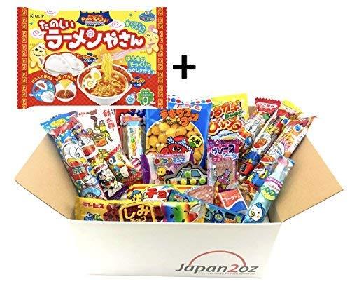 - Japanese Candy Set Assortment x 20 & DIY Popin Cookin Ramen Noodles Kit
