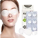 MOTHERMADE Snow Shining Eye Mask (Pack of 6), Brightens and Reduces Dark Circles, Puffiness, Dullness with Antioxidant Vitamin C and Berry Complex