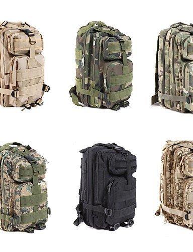 GXS Tourenrucksäcke/Wandern Tagesrucksäcke/Radfahren Rucksack/Travel Organizer ( Schwarz/Wie Bild/Armeegrün/Camouflage , 35 L)