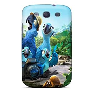 MansourMurray Samsung Galaxy S3 Shock-Absorbing Hard Cell-phone Case Customized Beautiful Rio 2 Pattern [oxQ14764juIh]