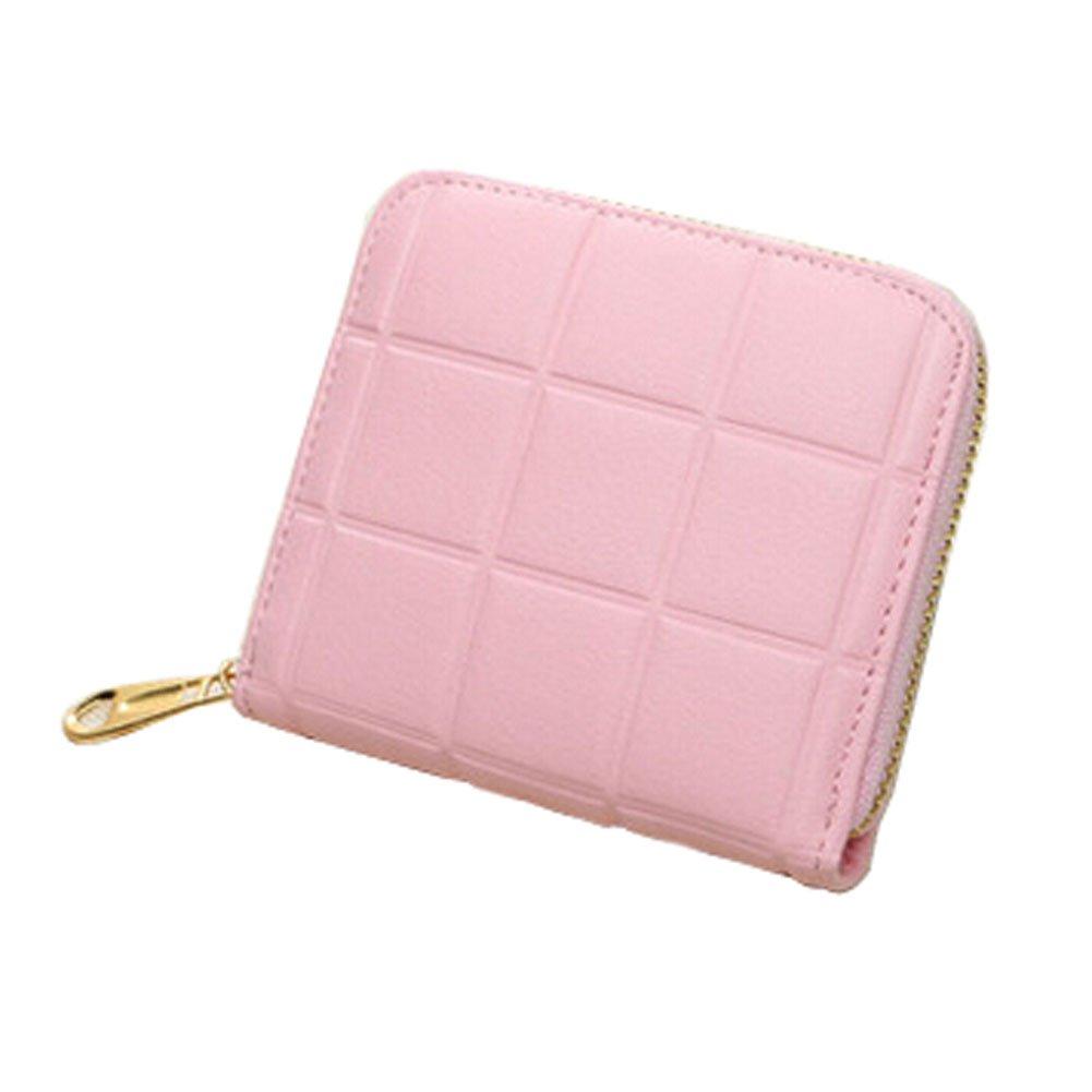 Mini Slim Wallet Femmes utiles Grille Multicard portefeuilles Porte-monnaie, G Blancho Bedding