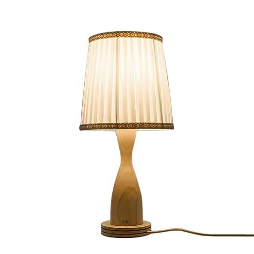 Desinger Lámpara de mesa de estilo japonés simple Lámpara de ...