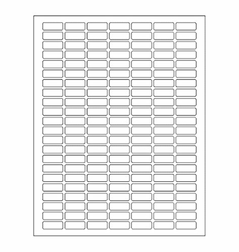 (White Rectangular Labels + Bonus color stickers - Value pack - white color coding labels produce excellent results with standard laser or inkjet printers labels - TEMPLATE included 1108)