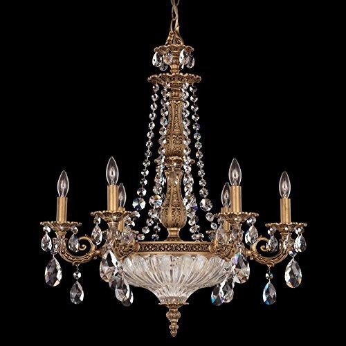 - Schonbek 5691-23A Chandelier Etruscan Gold