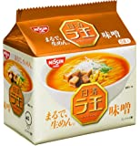 日清ラ王 袋麺 味噌 5食P×6個