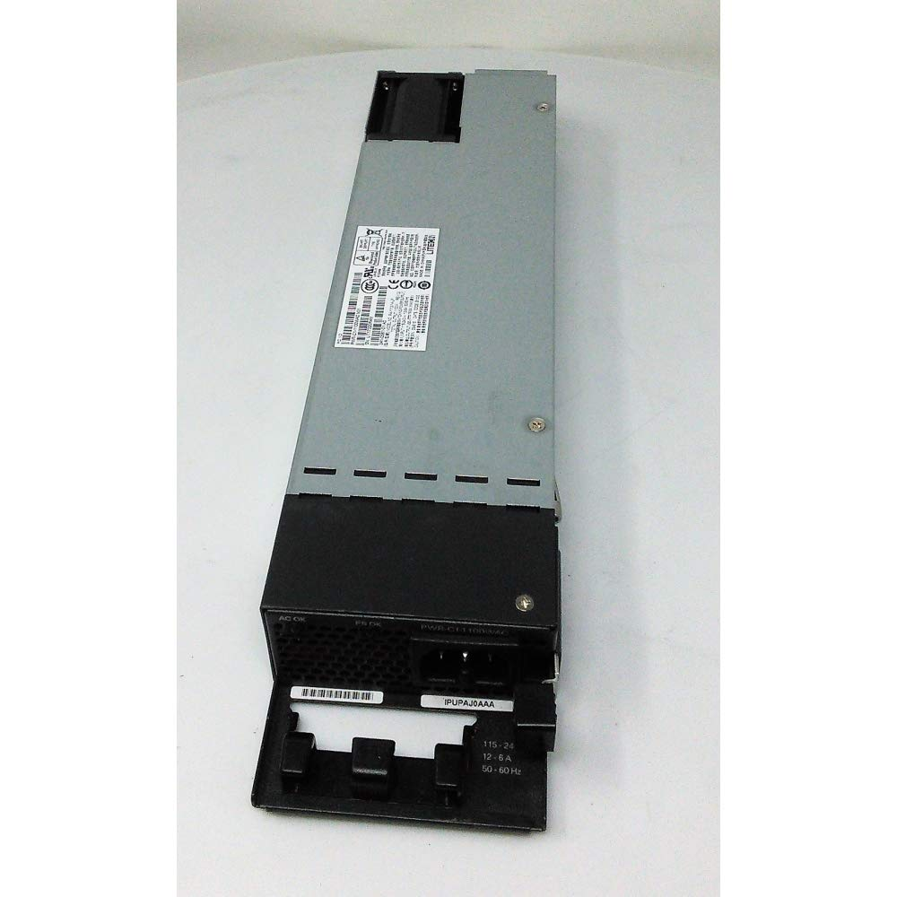 Cisco PWR-C1-1100WAC= 1100W AC Power Supply Spare - IEC 60320 C16 - 1.10 kW - 110 V AC, 220 V AC