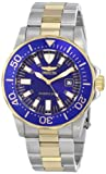 Invicta Men's 15031 Pro Diver Analog Display Japanese Quartz Two Tone Watch, Watch Central