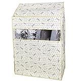 eDealMax Accueil antipoussière Hanging Costume vêtement Vêtements de Protection sac de Rangement couverture 80 x 53 x 115 cm, sourire Visage