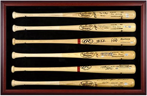 6 baseball bat display case - 1