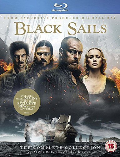 Black Sails: The Complete Collection (Seasons 1-4) [Blu-ray] by Import-L