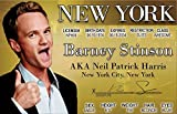 Neil Patrick Harris Novelty Drivers License / Fake I.d. Identification for Barney Stinson / How I Met Your Mother Fans