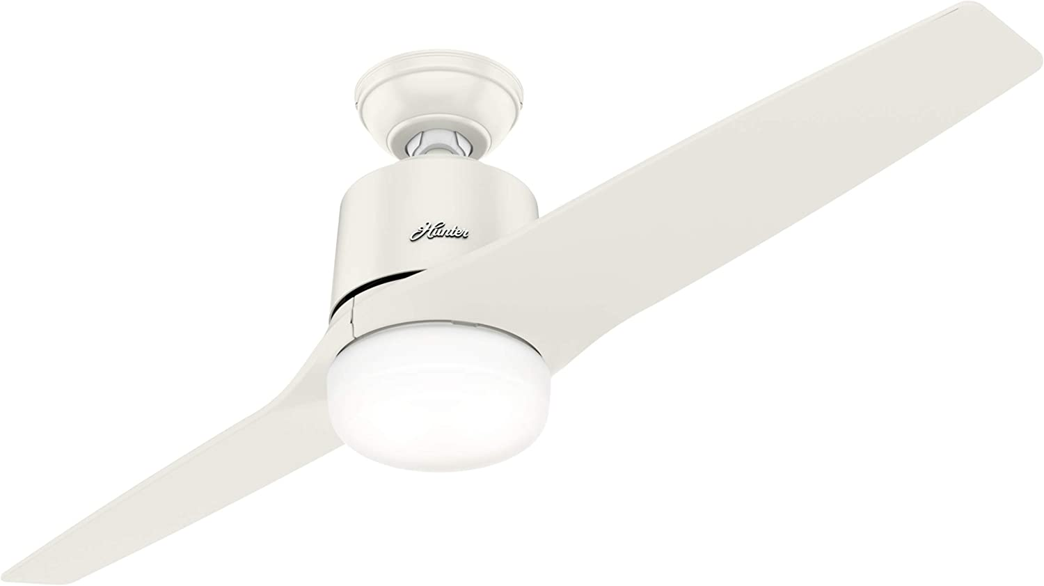 Leiva 54 In Led Indoor Fresh White Ceiling Fan With Integrated Light Kit And Handheld Remote Control