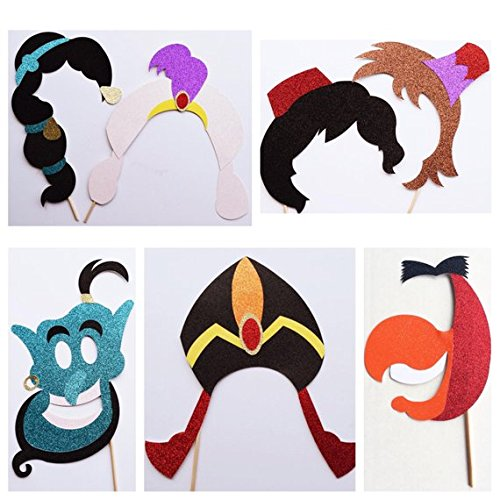 Amazoncom Disney Photo Booth Props Aladdin Photo Booth Props