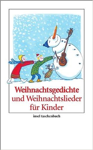 Lustige Kinder Weihnachtsgedichte.Weihnachtsgedichte Und Weihnachtslieder Für Kinder Insel Taschenbuch