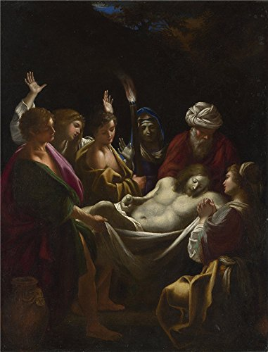 Oil painting 'Sisto Badalocchio Christ carried to the Tomb ' printing on Perfect effect canvas , 10 x 13 inch / 25 x 33 cm ,the best Home Theater gallery art and Home gallery art and Gifts is this Best Price Art Decorative Prints on Canvas