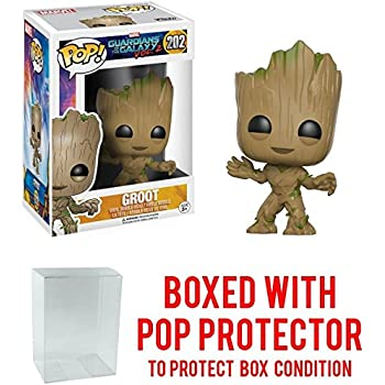Guardians of the Galaxy Vol. 2 Groot Pop! Vinyl Figure with Free Pop Protector!