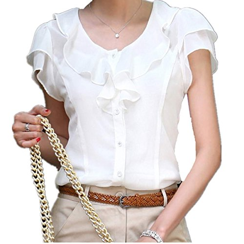 Taiduosheng-Women-slim-fit-ruffles-OL-Business-Plus-size-blouse-Top-Shirt