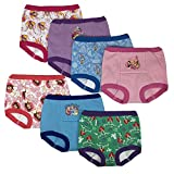 Disney Princess Girls Potty Training Pants Panties Underwear Toddler 7-Pack Size 3T