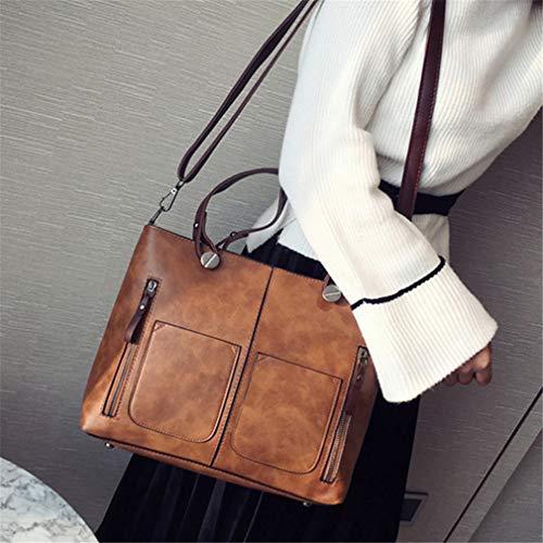 Handle Crossbody 39cmX10cmX26cm Lady Pink Top Tote Bag Shoulder Bags Black Big Bolsos 586vw8x