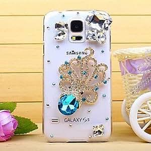 WQQ Diamond Petal Back Cover Case for SAMSUNG Galaxy S5 I9600