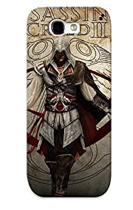 ExVLLc-3731-flAzy Premium Assassin Creed 2 Back Cover Snap On Case For Galaxy Note 2