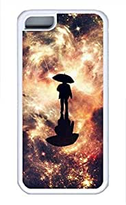iPhone 5c case, Cute Star Rain iPhone 5c Cover, iPhone 5c Cases, Soft Whtie iPhone 5c Covers