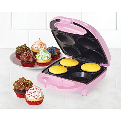 Nostalgia CKM400 Mini Cupcake Maker, Pink by Nostalgia Electrics
