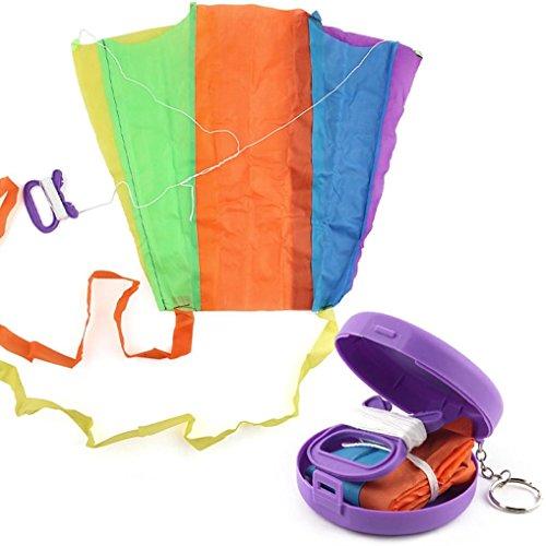 FINERINE Earth kite Beautiful Large Easy Flyer Kite Supplest Pocket kite (Interlocking Rings Stations)