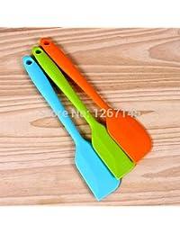 Gain 1 pc Silicone Colorful Batter Spatula /Cake Cream Mixer Baking Scraper Kitchen Tool jHmK occupation