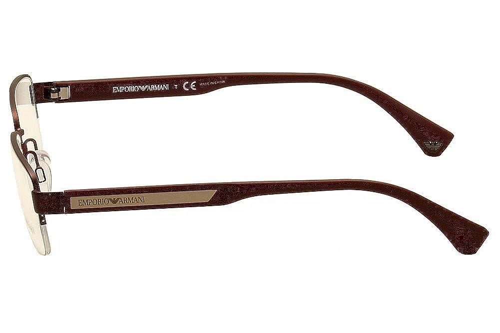amazoncom emporio armani ea 1029 mens eyeglasses clothing - Emporio Armani Glasses Frames