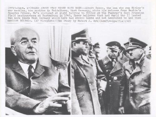 Original Press Release Photo Hitler & ()