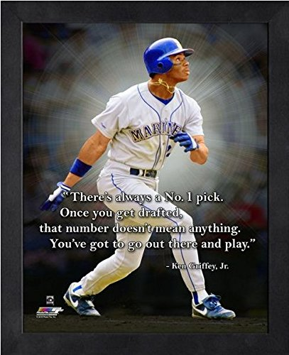 - Ken Griffey Jr. Seattle Mariners Pro Quotes Photo (Size: 12
